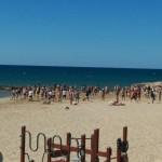 Strandträning